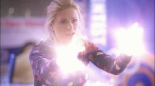 Sookie Stackhouse using her fairie fairy powers of light